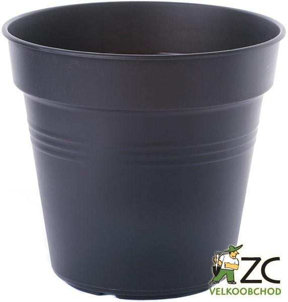 Květináč Green Basics 17 cm living black Popis:Květináče Green Basics jsou produkty od světoznámého výrobce Elho. Tyto pěstební nádoby jsou vyrobeny z recyklovaných plastů. Pod květináče můžeme dokoupit i vhodnou misku ze stejného materiálu. Pod tuto velikost patří miska Green Basics - 520097.Materiál:plastBarva:terakotováRozměry:průměr: 15 cm (1